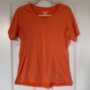 Arc'teryx Orange running top, Women's Large